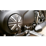 Motone Customs: Clutch Badge: Union Flag: Bobber, Street Twin, T100/T120, Thruxton 1200.